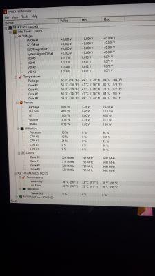 Lenovo - Przycinki w grach ss hwinfo furmark