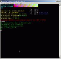 """Pirometr """"tęczowy"""" z WS2812 + 7 x DS18B20, Wi-Fi, UsbHost, pilot IR"""