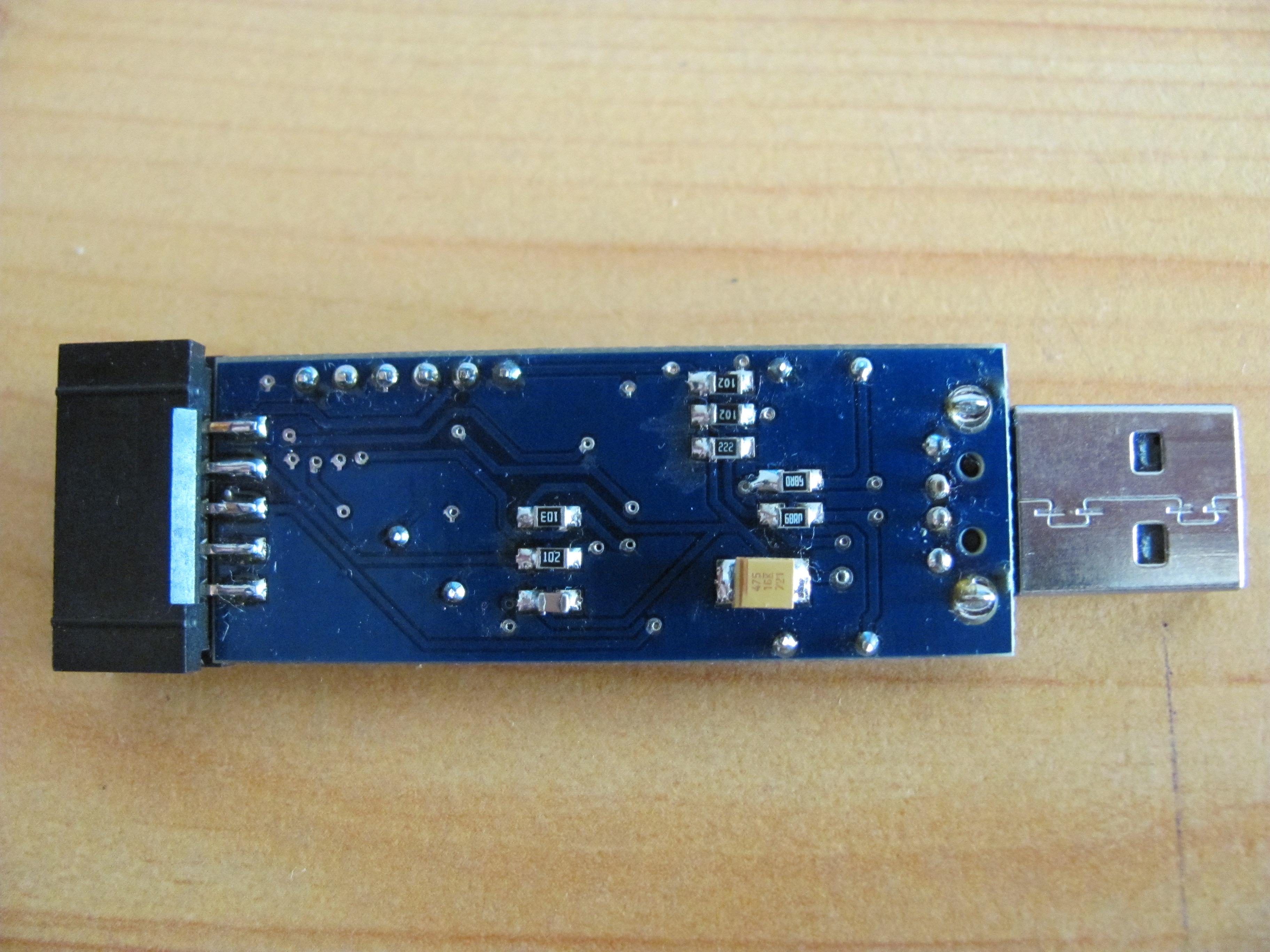 AVR USBasp - Poblem ze napi�ciem wyj�ciowym