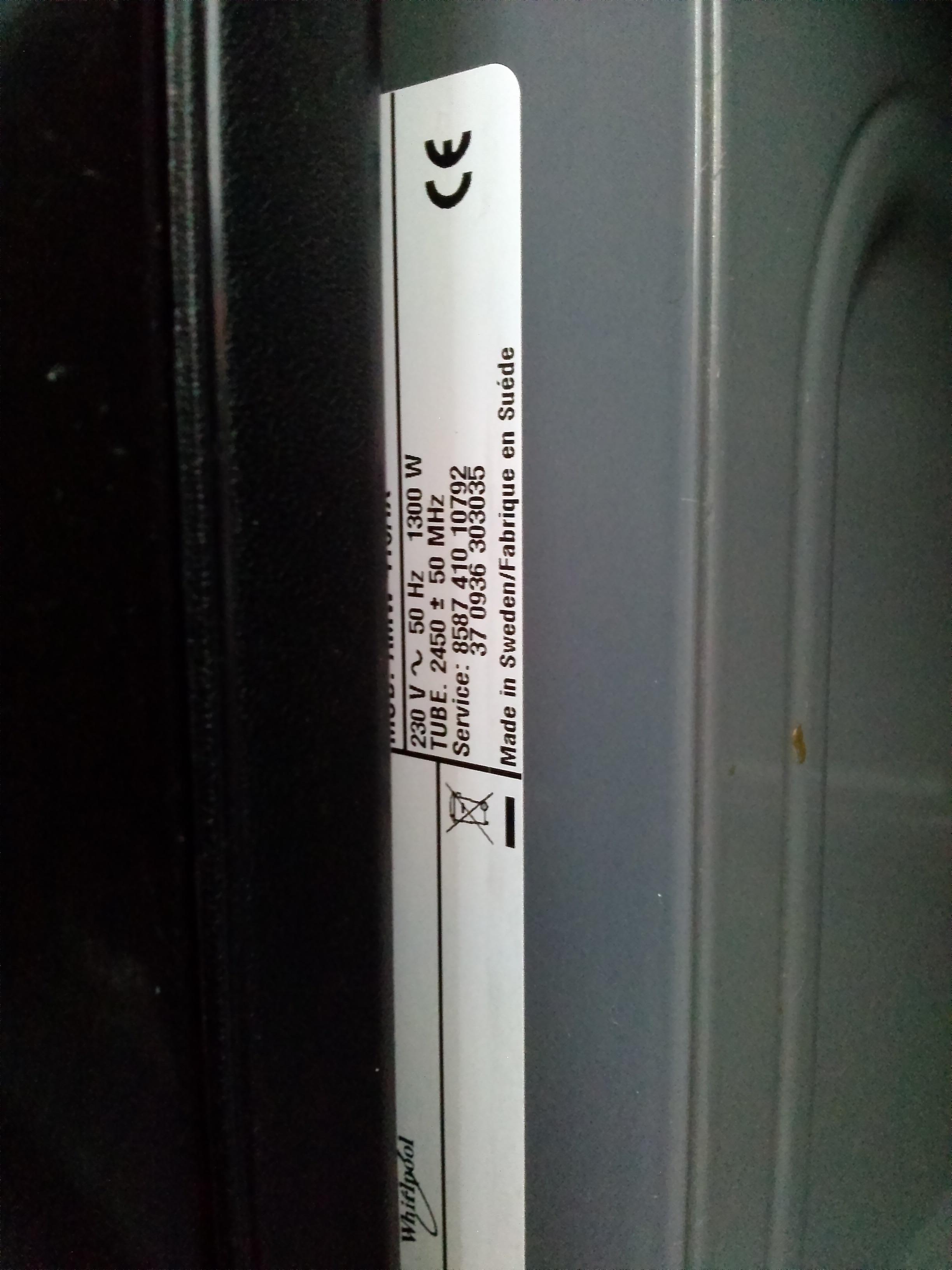Whirlpool AMW490 IX co mo�e by� uszkodzone?
