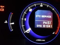 Honda Civic 8 Gen 2,2 D. 2006 - Pali się kontrolna ABS i VSA. ABS działa. B1170