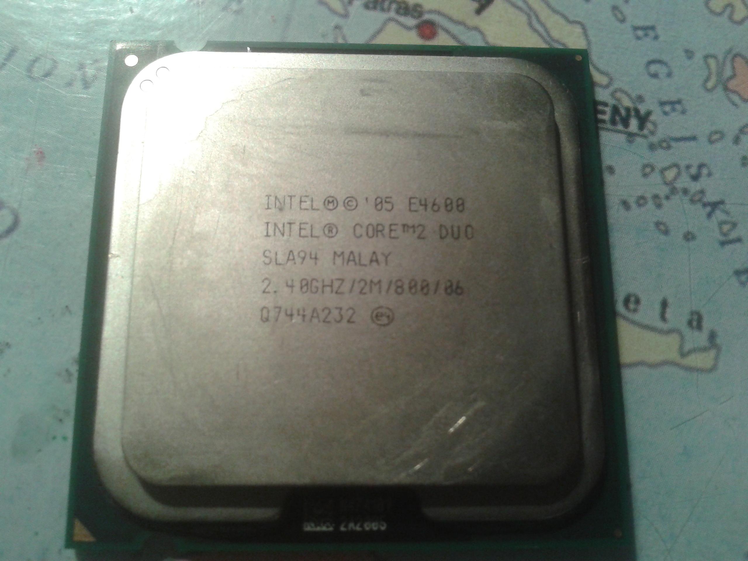 [Sprzedam] Procesor Intel Core 2 Duo E4600 2,4 Ghz