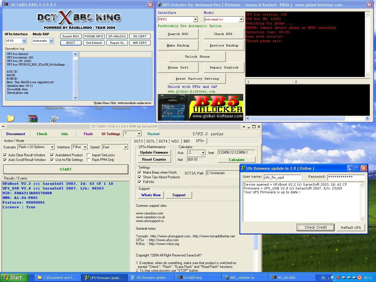 ufs setup latest version download