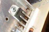 Siemens KI38VA50/04 - Lodówka mrozi zamiast chłodzić - przepalony tranzystor