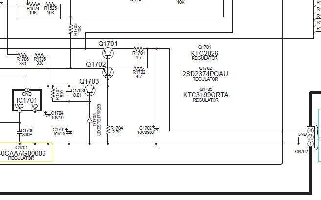 Panasonic SA-HE75  - b��d F70