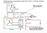 Fiat 125 p  -  Alternator 6-cio diodowy nie �aduje, wirnikm dzia�a jak magnes