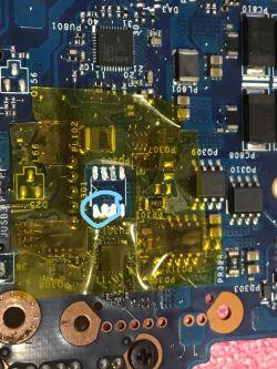 Naprawa zasilania w laptopie. Wymiana kości AO4407A