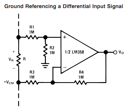Problem About Lm358 To Make Difference Amplifier