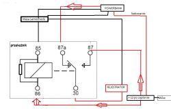 Audi A1 - Zasilanie kamery samochodowej z portu ODB + powerbank