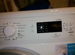 Electrolux EWP11274TW - time manager