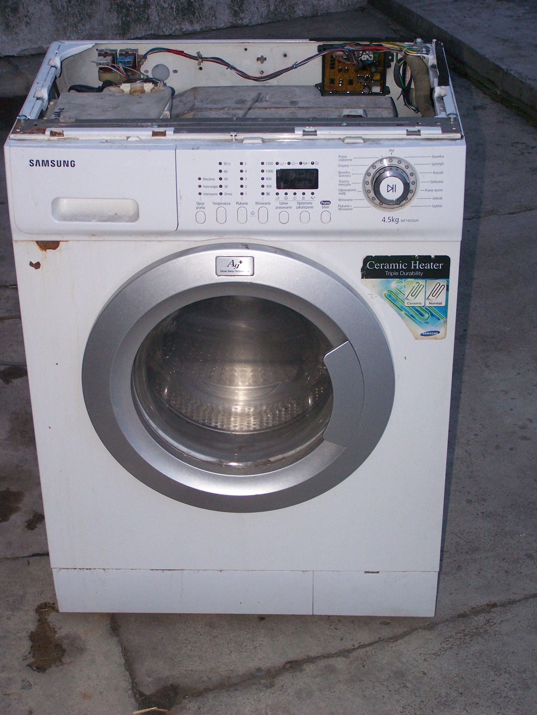 [Kupi�] Zasobnik do proszku wraz z szuflad� do pralki Samsung WF 7522 SUV