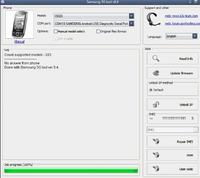 Samsung I5500 sim lock z3x box