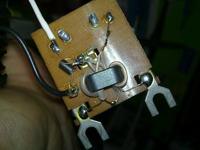 Antena radiowa Dipol 1RUZ PM- mocowanie antenki polaryzacji pionowej