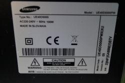 Samsung UE40D5000 - pas poziomy, T-con czy matryca?