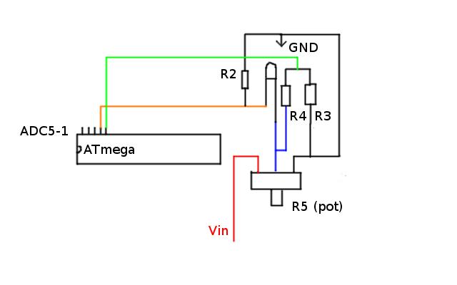[ATMEGA8A][C] - Pomiar natężenia prądu (ADC)