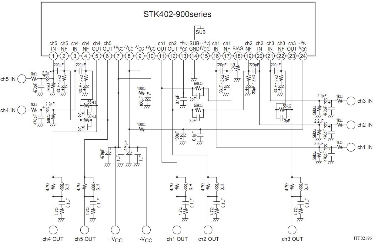 Program do projektowania PCB z ko�c�wkami mocy STK 400-XXX