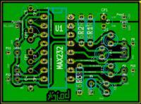 [Kicad] Sprawdzenie PCB (rs232<-->uart)