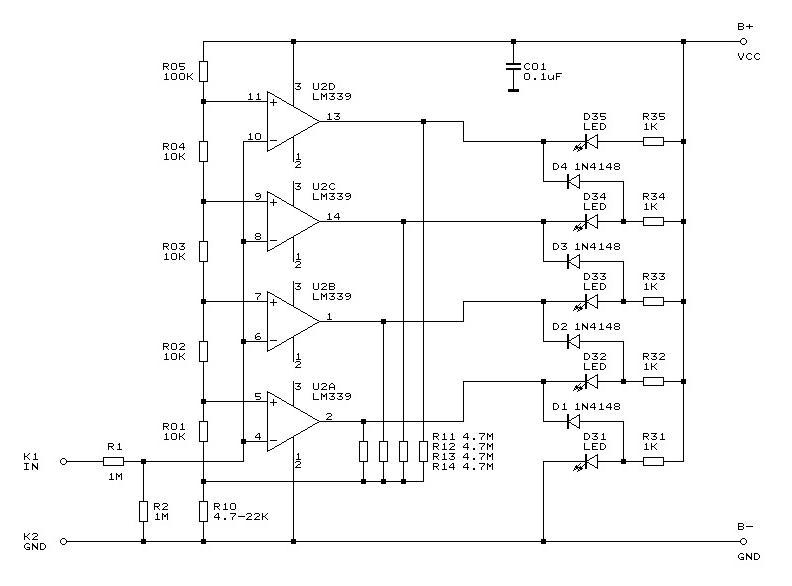 Komparator LM339N i modyfikacja efektu ko�cowego.