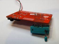 Obudowa prostego testera półprzewodników i elementów RLC