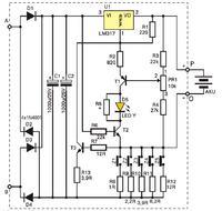�adowarka akumulator�w �elowych na bazie AVT 2309
