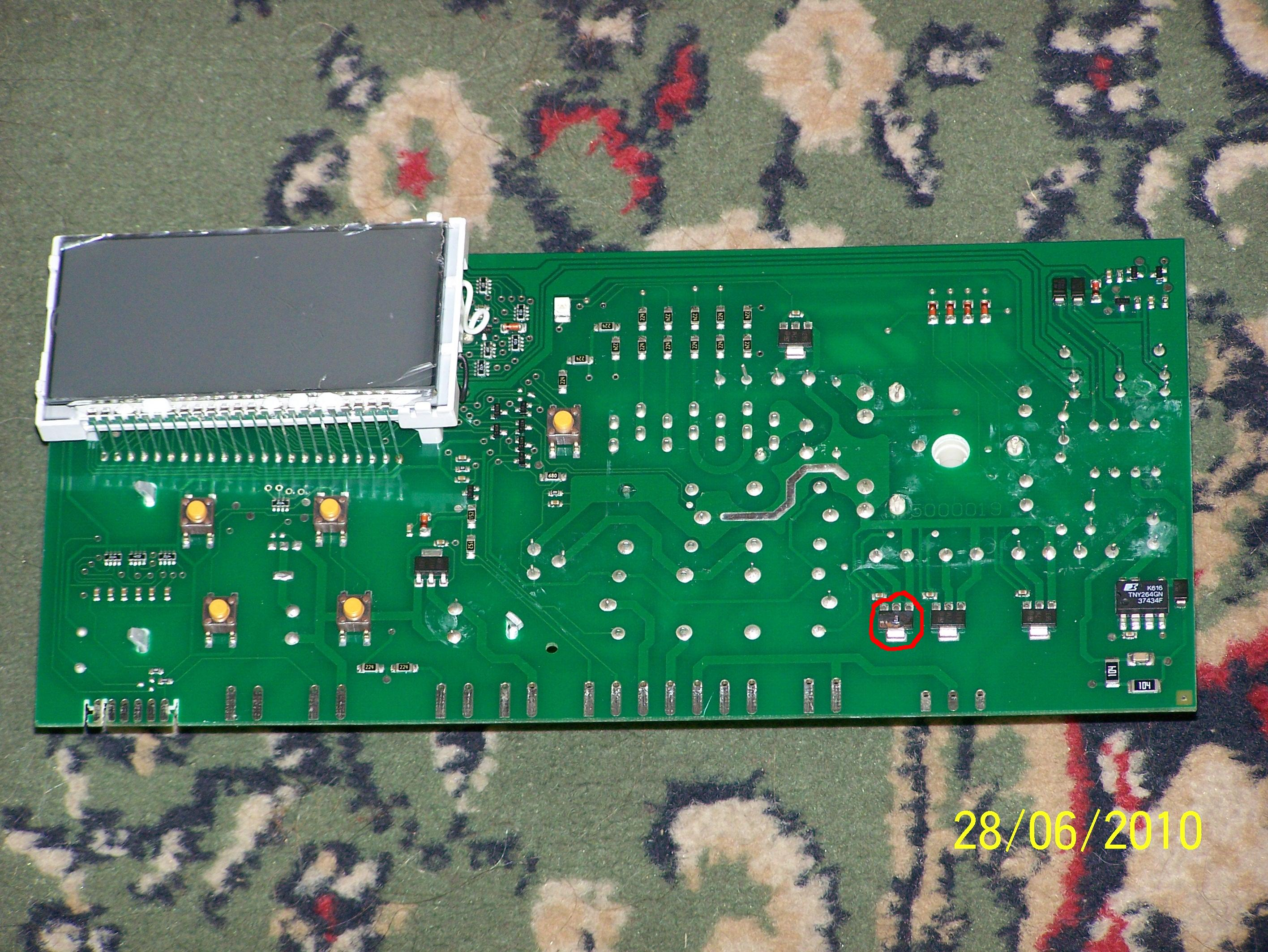 Amica PCP5580B23 - brak wirowania