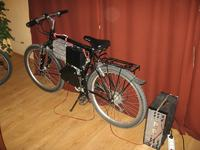 Pojazd elektryczny na bazie roweru - SPEEDEE