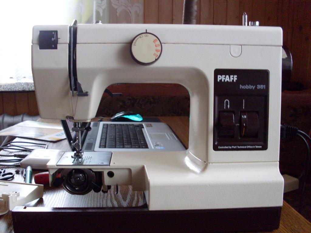 Maszyna do szycia Pfaff hobby - nie szyje