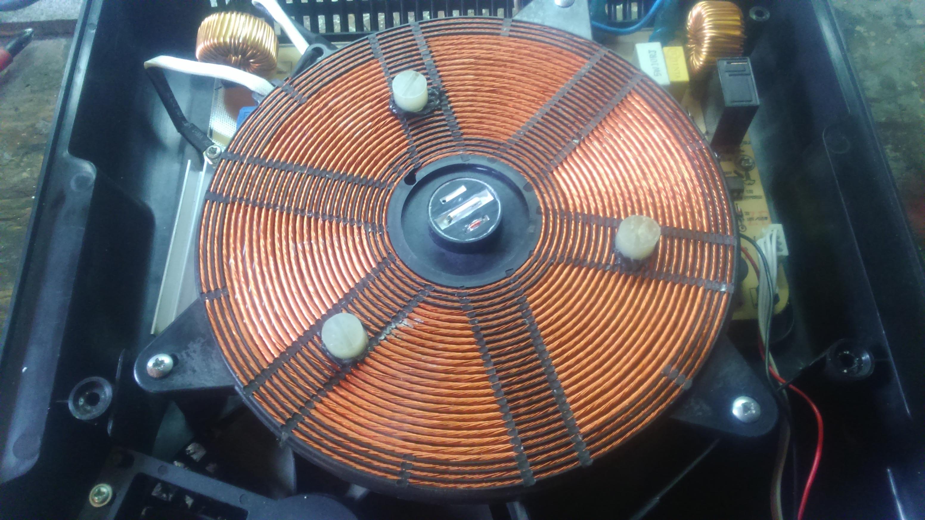 Quigg Ik 4000 13 Plyta Indukcyjna Blad E0 Elektroda Pl
