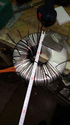 Zasilacz transformatorowy 430V / 8A DC.