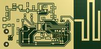 Czujnik SHT21 i Trójkąt Berbudzki na płytce PCB