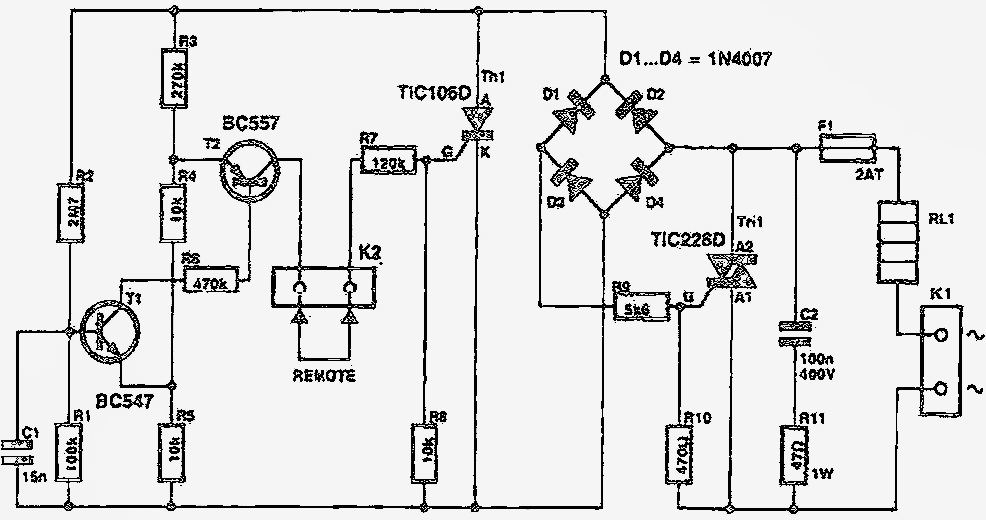 ac voltage regulator using triac