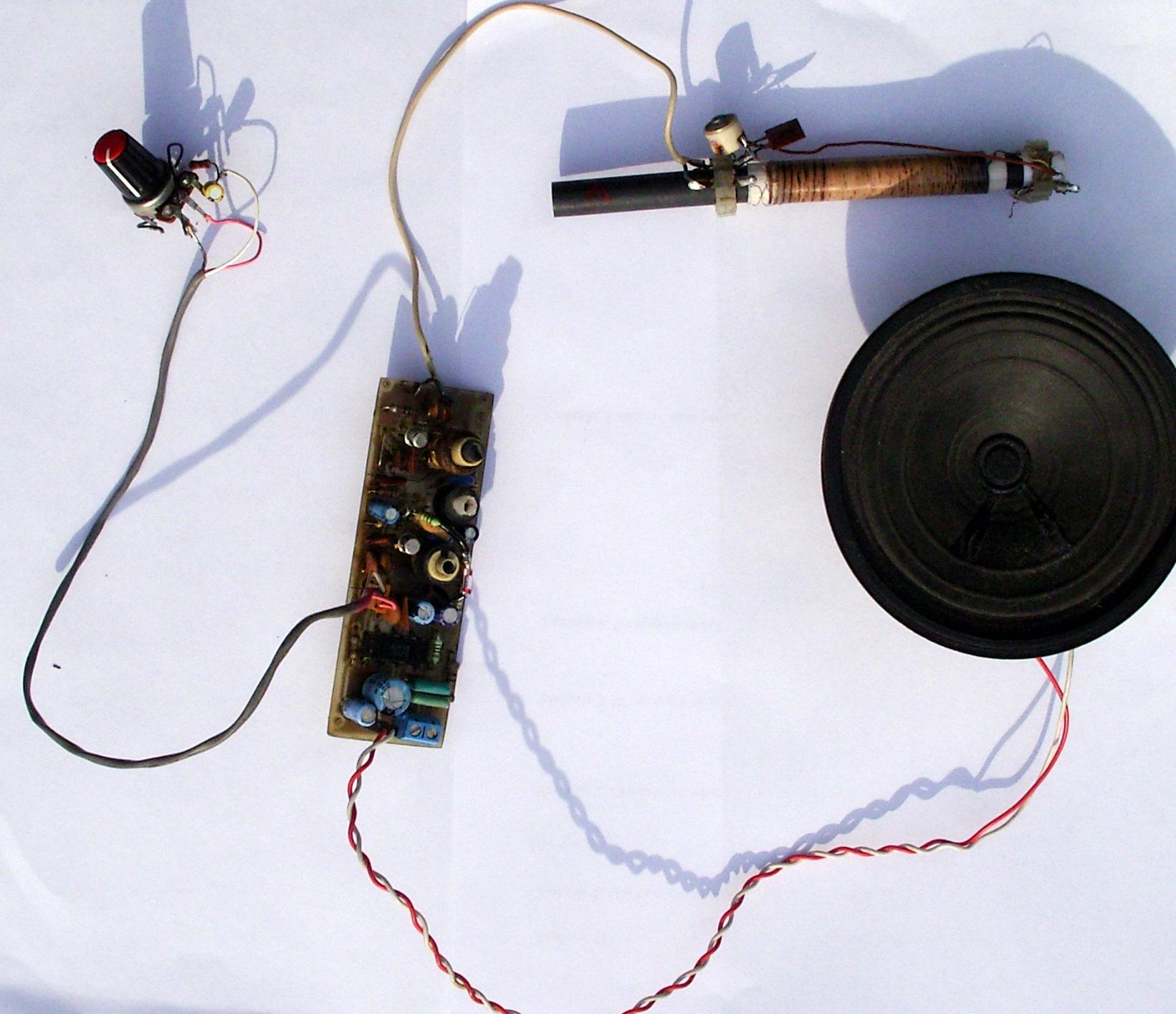 Radioodbiornik z przemian� cz�stotliwo�ci