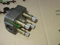 a3 8l - cieknie paliwo z jednej sekcji pompy wtryskowej