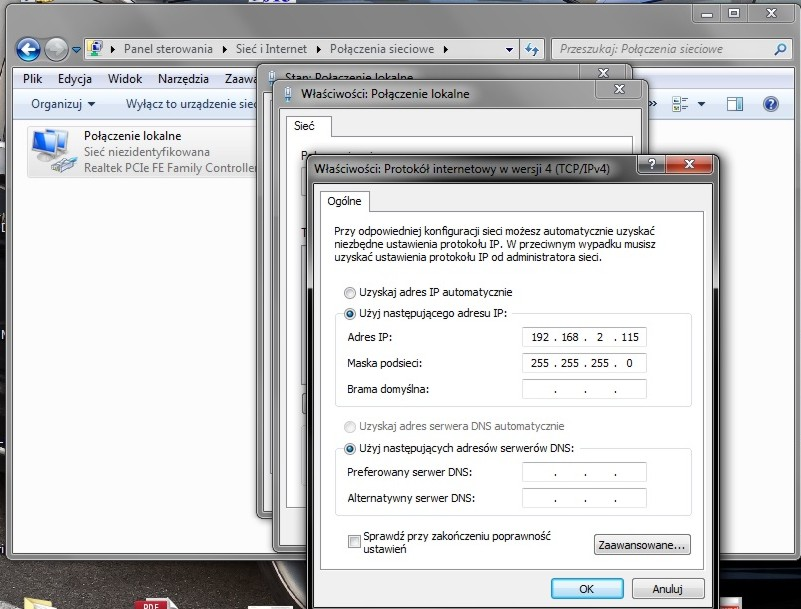 AP Edimax Ew-7209ApG  - Brak ��czno�ci po konfiguracji