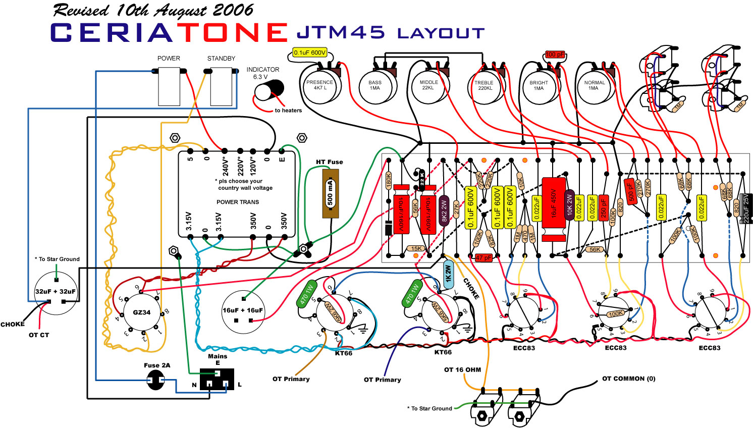 Audio  lifier Schematic also Mos Fet Audio Lifier moreover 3 Transistor Fuzz Schematic together with 100 Watt Tube   Schematic in addition Diy Tube Guitar   Schematics. on tube audio power lifier circuit