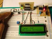 Tester diod i tranzystor�w z wy�wietlaczem LCD