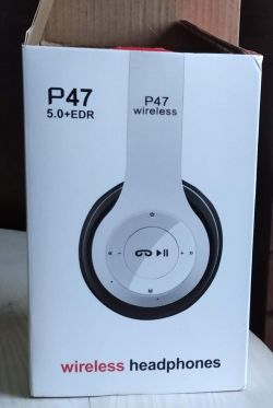 Słuchawka P47 wireless - możliwość słuchania radia?