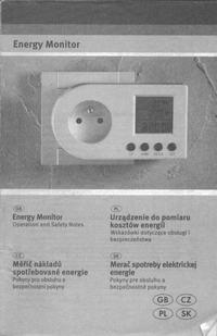 Licznik kosztów energii Lidl - instrukcja obsługi PL