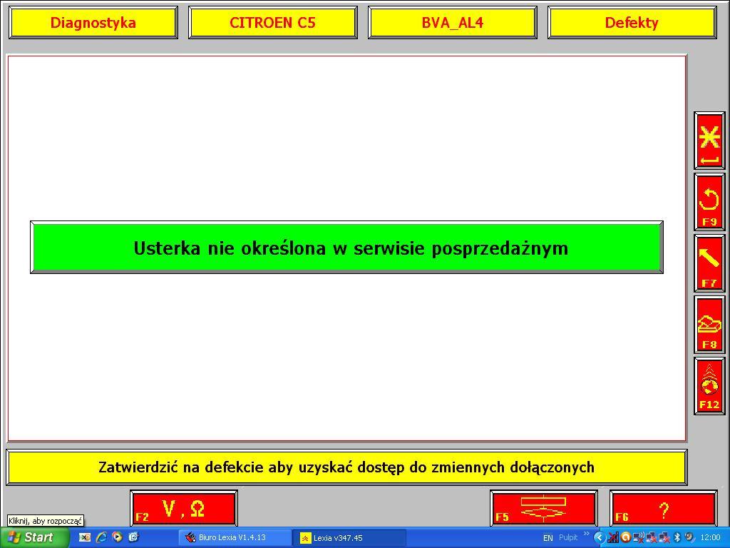 Citroen C5 2002 2.0 - B��d skrzyni - szarpni�cie i tryb awaryjny