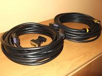 [Sprzedam] kabel VGA d-sub HAMA 7m,  audio minijack 10m ekranowane