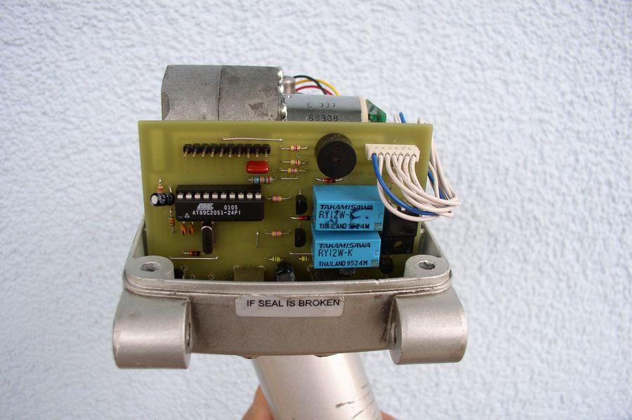 Sterownik obrotnicy paneli fotowoltaicznych
