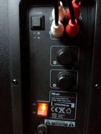 Głosniki Trust gtx 38 - nie grają po podłączeniu do komputera