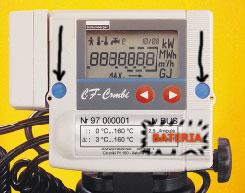 Jak wymienić baterię w ciepłomierzu CF Combi ?