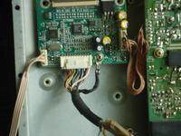 Monitor manta 1901 oderwany kabel