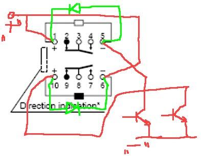 Przekaźniki bistabilne dwucewkowe jak podłączyć?