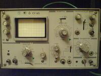 Rosyjski oscyloskop C1-65 - co znaczą te oznaczenia ?