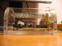 zegar na lampie VFD