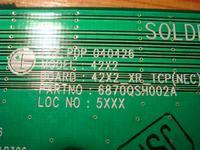 LG 42 RZ-42PY10x - działa połowa obrazu
