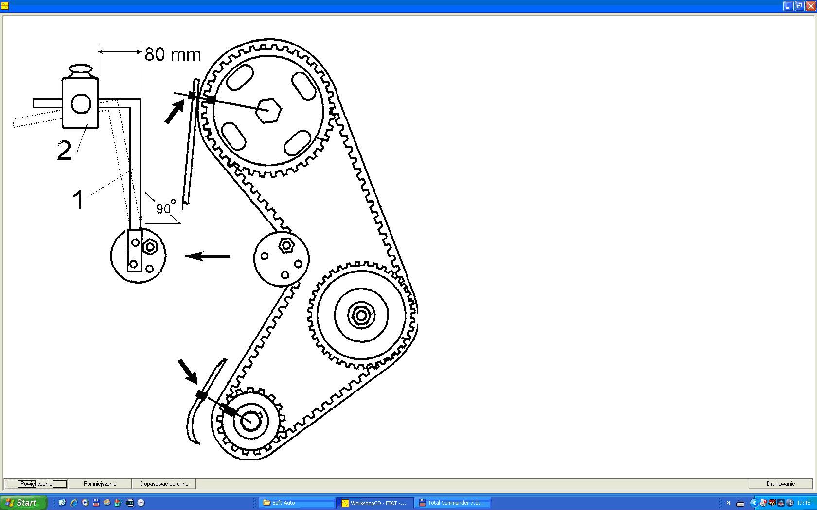 zamiana silnika fiat uno 1.0, ustawienie zapłonu i rozrządu