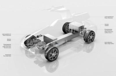 W 100% elektryczny Mercedes-Benz SLS AMG